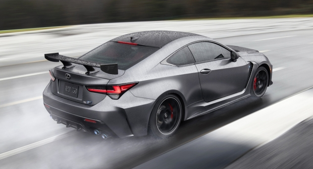 Купе Lexus RC F