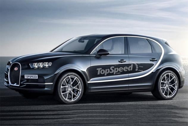 Bugatti рассказала, чем ее кроссовер будет отличаться от Bentley, Porsche и Audi