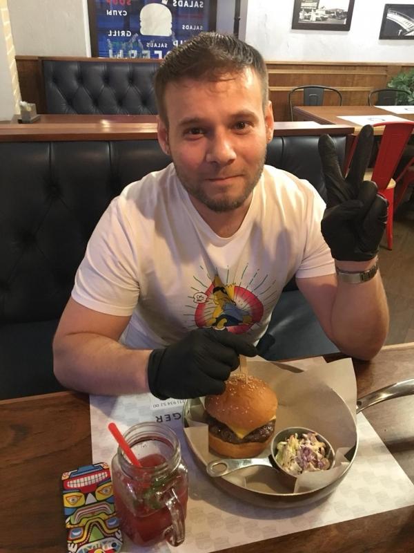 Брутальный бургер