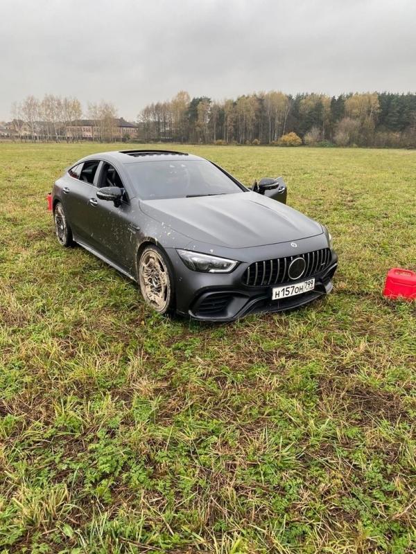 Сжёг свой Mercedes за 13 млн. рублей