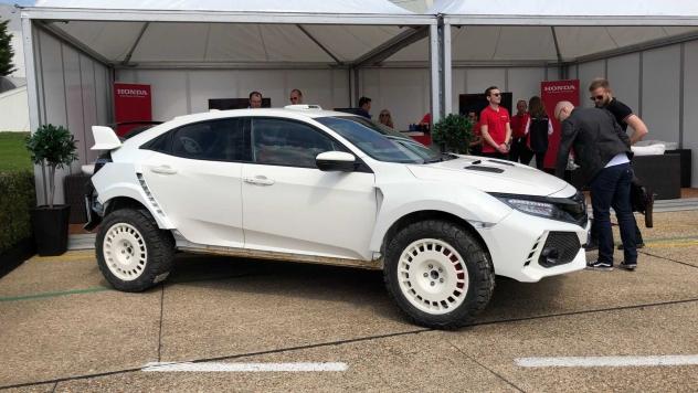 Honda Civic Type R не поверишь способна покорять бездорожье!