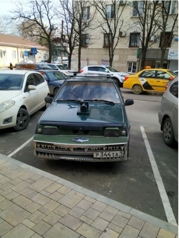 Нелепый тюнинг)))