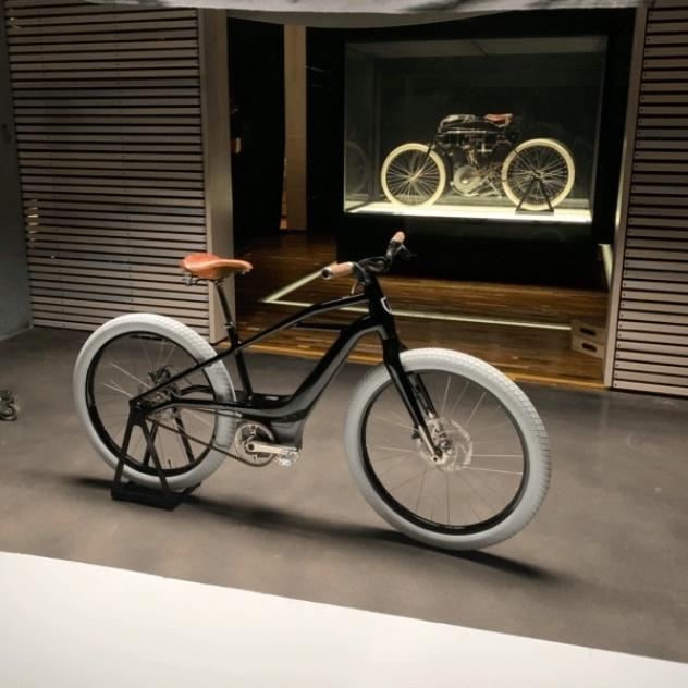 Первый электровелосипед от Harley-Davidson
