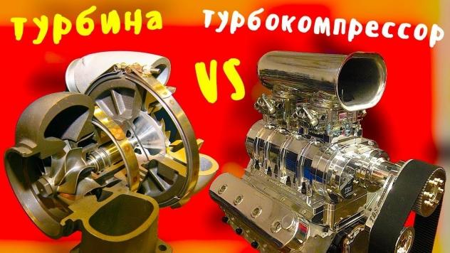 Чем отличается турбина от турбокомпрессора. Зачем охлаждать турбину.