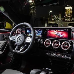 Представлен «заряженный» седан Mercedes-AMG CLA 35