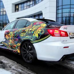 6 креативных идей автовинила для вашего авто